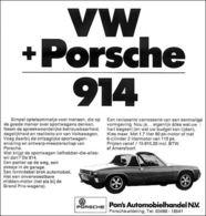 VW + Porsche 914   Print Ads