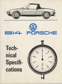 Porsche 914 Technical Specifications | Manuals & Instructions