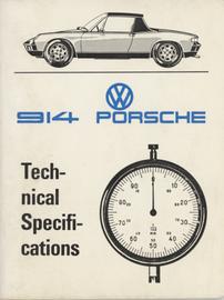 Porsche 914 Technical Specifications | Manuals & Instructions