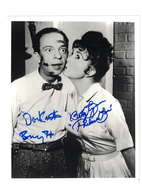 """Don Knotts-Betty Lynn """"Andy Griffith Show"""" Autographs 
