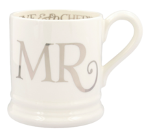 Silver Toast Mr 1/2 Pint Mug - Emma Bridgewater | Ceramics | Silver Toast Mr Mug