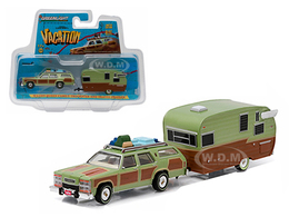 Wagon Queen Family Truckster and Travel Trailer | Model Cars