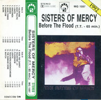 The Sisters of Mercy - Before the Flood MC audio cassette MG Records | Audio Recordings (CDs, Vinyl, etc.) | front cover