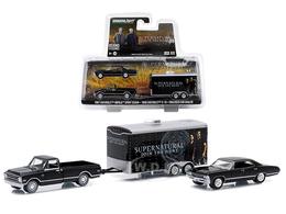 1968 chevrolet c 10 with 1967 chevrolet impala sport sedan and enclosed car hauler model vehicle sets 468a58ad 98ce 4d85 8a74 3d46a114dfd7 medium