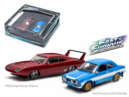1969 Dodge Charger Daytona and 1974 Ford Escort RS 2000 MkI | Model Vehicle Sets