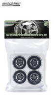 Five Spoke Low Profile Performance Wheels and Tires Set   Model Spare Parts