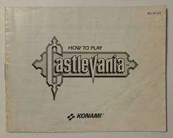 Castlevania for NES Manual | Manuals & Instructions