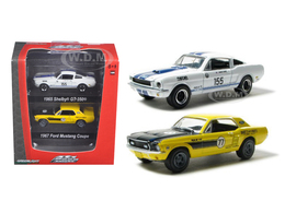 1965 Shelby GT-350 and 1967 Ford Mustang Coupe | Model Vehicle Sets