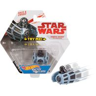 Darth Vader (TIE Advanced) | Model Spacecraft | Hot Wheels Star Wars Darth Vader Battle Roller