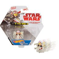 Luke Skywalker (X-Wing Fighter) | Model Spacecraft | Hot Wheels Star Wars Luke Skywalker Battle Roller