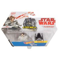 Rey vs Tie Fighter Pilot | Model Vehicle Sets | Hot Wheels Rey vs Tie Fighter Pilot Battle Rollers