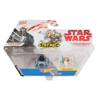 Darth Vader vs Luke Skywalker | Model Vehicle Sets | Hot Wheels Darth Vader vs Luke Skywalker Battle Rollers