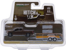 2015 Ford F-150 And Flatbed Trailer | Model Vehicle Sets