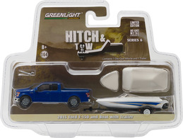 2015 Ford F-150 And Boat With Trailer | Model Vehicle Sets