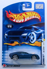 Overbored 454     | Model Cars | HW 2002 - Collector # 016/240 - First Editions 4/42 - Overbored 454 - Metallic Blue - USA Card