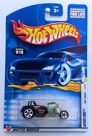 Altered State     | Model Cars | HW 2002 - Collector # 018/240 - First Editions 8/42 - Altered State - Metallic Purple - USA Card