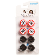 Modarri Performance Wheel Pack | Model Car Kits | Modarri Performance Wheel Pack. 8 Wheels included: 4 Black, 4 Red and White.