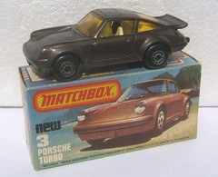 Porsche Turbo | Model Cars | dark brown