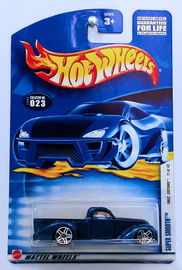 Super Smooth     | Model Trucks | HW 2002 - Collector # 023/240 - First Editions 11/42 - Super Smooth - Metallic Blue - USA Card