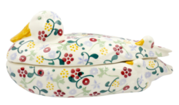 Spring Floral Duck on Nest  - Emma Bridgewater | Ceramics | Spring Floral Duck on Nest