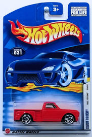 Custom '69 Chevy     | Model Trucks | HW 2002 - Collector # 031/240 - First Editions 19/42 - Custom '69 Chevy - Red - USA Card