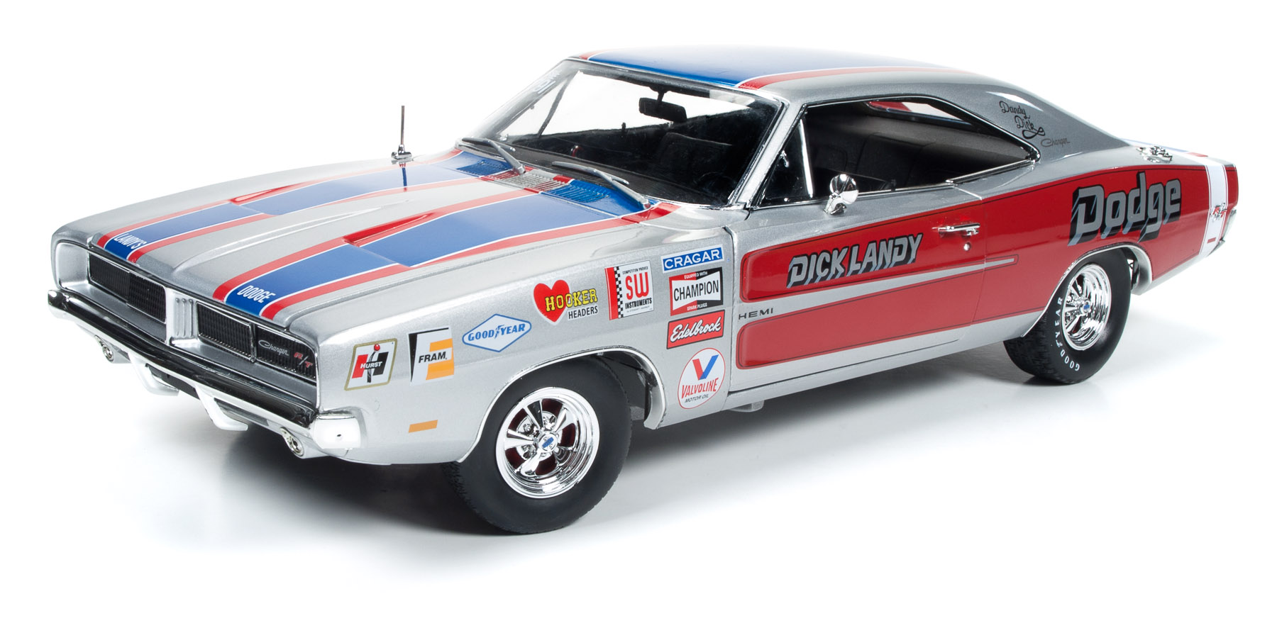 1969 Dodge Charger R T Model Racing Cars Hobbydb