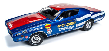Rod Shop 1971 Dodge Charger Super Bee Model Racing Cars
