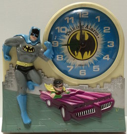 Batman And Robin Clock | Clocks