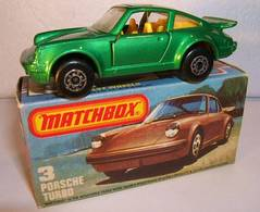 Porsche Turbo | Model Cars | 17 met. green