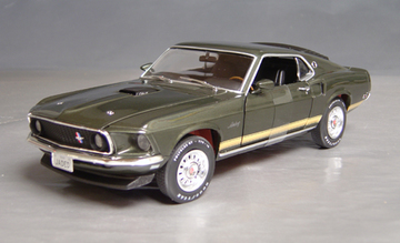 1969 Ford Mustang GT 428 Cobra Jet | Model Cars