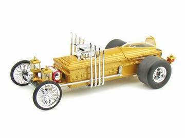 Grandpa's Dragula   Model Cars