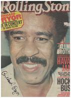 Richard Pryor Signed 1979 Rolling Stone Magazine | Posters & Prints