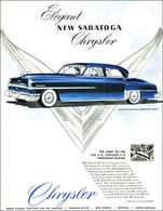 Elegant New Saratoga Chrysler  | Print Ads
