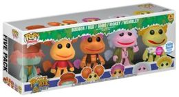 Fraggle Rock 5-Pack (Flocked) | Vinyl Art Toys Sets