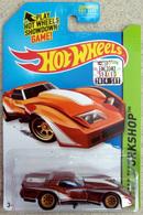 '76 Greenwood Corvette | Model Cars | Factory Set sticker on card