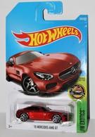 '15 Mercedes-Amg GT | Model Cars | 2017 Hot Wheels '15 Mercedes -AMG GT  ( HW EXOTICS ) INTERNATIONAL CARD