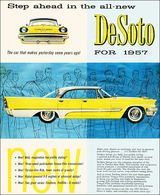 Step Ahead In The All-New DeSoto For 1957 | Print Ads