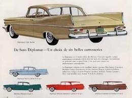 DeSoto Diplomat ― Un Choix De Six Belles Carrosseries | Print Ads