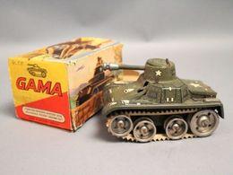 Gama 713 Tank | Tinplate & Pressed Steel Toys