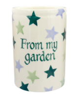 Winter Stars Medium Vase Personalised - Emma Bridgewater | Ceramics | Winter Stars Medium Vase