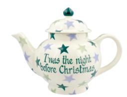Winter Stars 4 Mug Teapot Personalised - Emma Bridgewater | Ceramics | Winter Stars 4 Mug Teapot