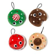 Christmas Cookies Plush Ornaments (4-Pack) | Christmas & Holiday Ornaments