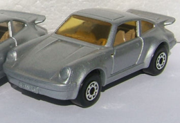 Porsche Turbo | Model Cars | silver-gray