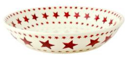 Multi Red Star Medium Pasta Bowl - Emma Bridgewater | Ceramics | Multi Red Star Pasta Bowl