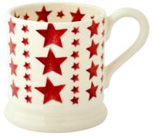 Multi Red Star 1/2 Pint Mug - Emma Bridgewater | Ceramics | Multi Red Star 1/2 Pint Mug