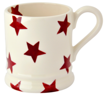 Red Star 1/2 Pint Mug - Emma Bridgewater | Ceramics | Red Star 1/2 Pint Mug