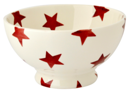 Red Star French Bowl - Emma Bridgewater | Ceramics | Red Star French Bowl
