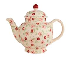 Little Pink Flowers 4 Mug Teapot - Emma Bridgewater | Ceramics | Little Pink Flowers 4 Cup Teapot