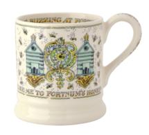 Fortnum & Mason Beehive 1/2 Pint Mug - Emma Bridgewater | Ceramics | Beehive 1/2 Pint Mug