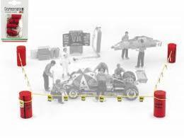 Set Paddock Limits | Diorama Accessories